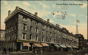 Granite block, Fall River, Mass.