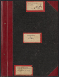 Sacco-Vanzetti Case Records, 1920-1928. Transcripts. Bound Trial Transcripts, Vol. 5-A, pp. 1725-2166 (belonging to Frederick Katzmann). Box 31, Folder 2, Harvard Law School Library, Historical & Special Collections