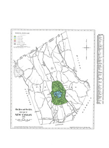 Residential security map of New Canaan, Conn.