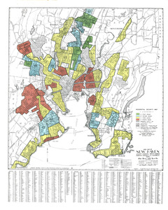 Residential security map of New Haven, East Haven, West Haven, North Haven and Hamden, Conn.