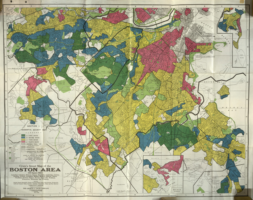 Redlining Maps and Their Legacy