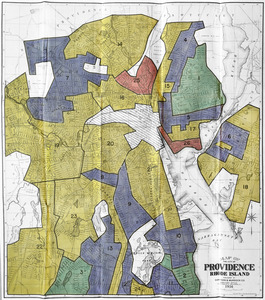 Residential security map of Providence, R.I.