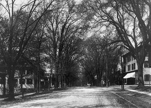 A view of Main Street looking north