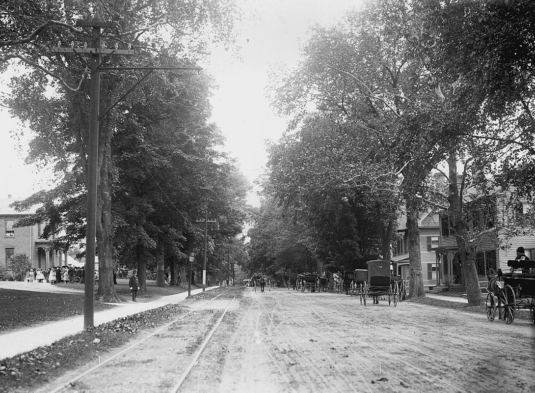 A view of Main Street looking south
