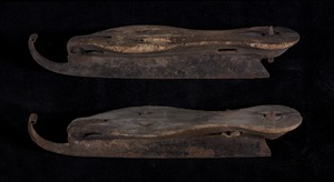 Early ice skates found in the Paterson homestead