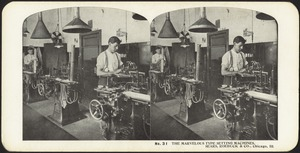 The marvelous type setting machines