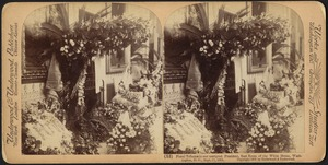 Floral tributes to our martyred President, East Room of the White House, Washington, D.C., Sept. 17, 1901