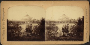 Horticultural building from Wooded Island. World's Fair
