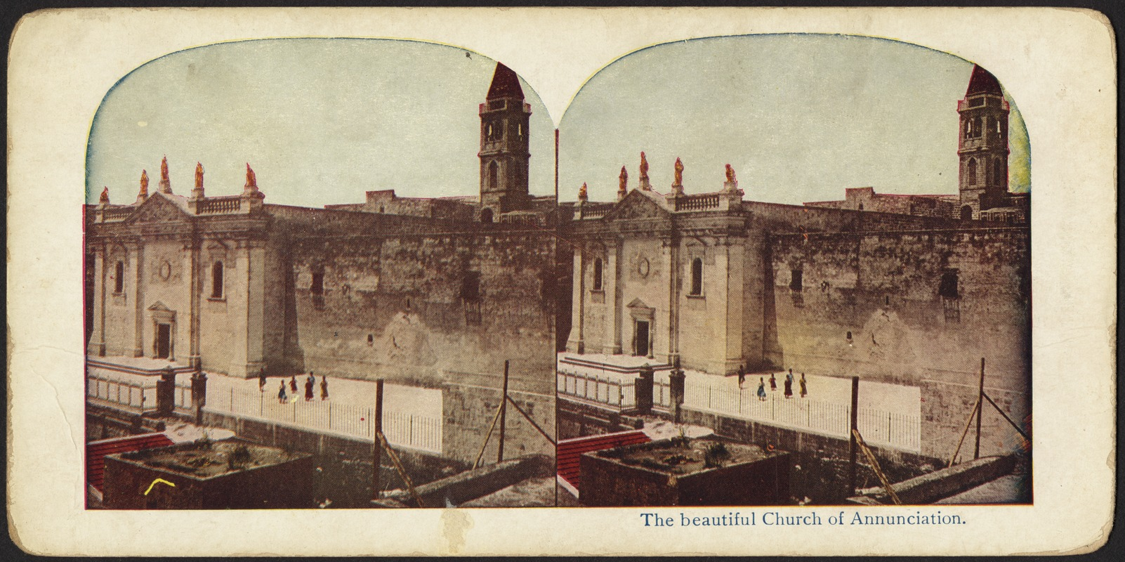 Church of the Annunciation, Nazareth, Palestine