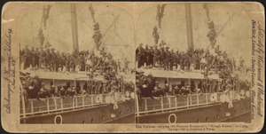 """The Yucatan carrying the Famous Roosevelt's """"Rough Riders"""" to Cuba"""