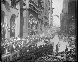 US Soldiers Parade on Governors Day