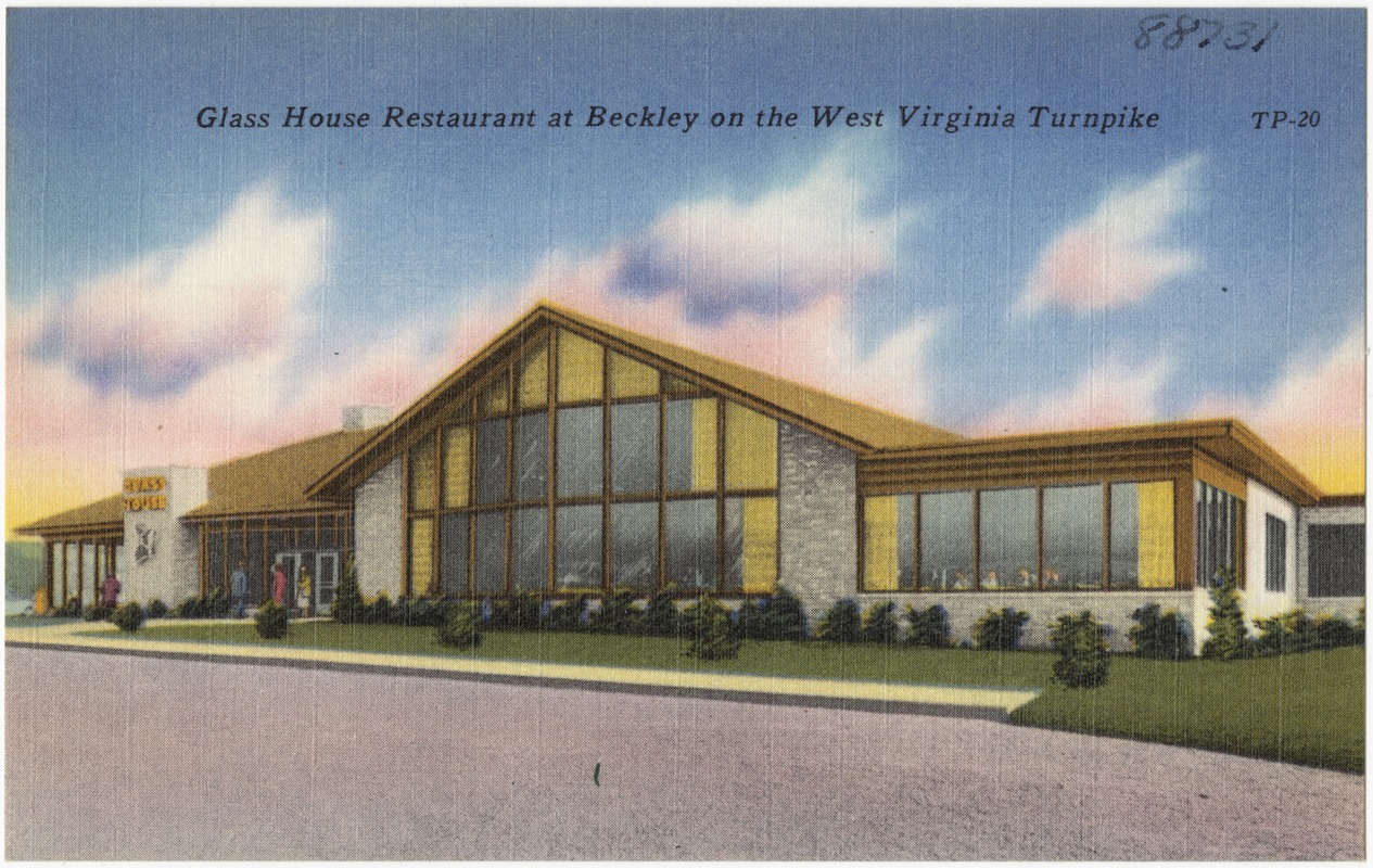 Gl House Restaurant At Beckley On The West Virginia Turnpike Digital Commonwealth
