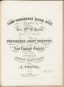 Camp Providence quick step