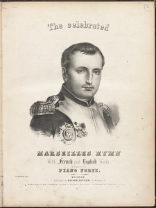 The celebrated Marseilles hymn