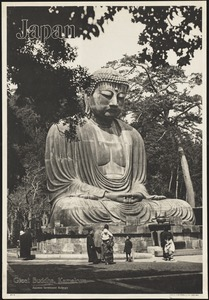 Japan. Great Buddha, Kamakura