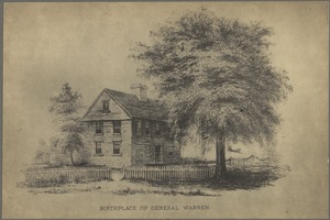 Birthplace of General Warren, Roxbury