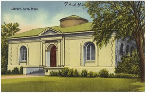 Library, Ayer, Mass.