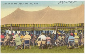 Auction on the Cape, Cape Cod, Mass.
