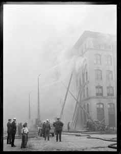 Fairbanks building fire, Congress St., South Boston