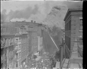 Chelsea Square fire raging (No. 125-1-)