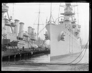 Ship, 2 Navy light cruisers