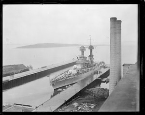 USS Maryland in South Boston