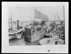 After raising the old USS Maine from Havana Harbor