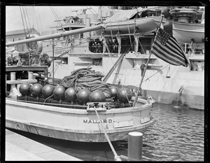 USS Mallard as mine layer actually was a mine sweeper