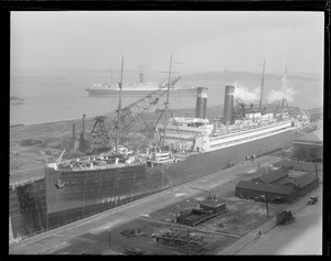 SS George Washington - South Boston drydock