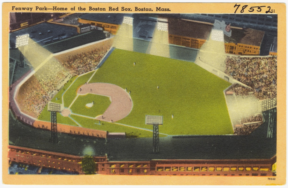 Fenway Park -- Home of the Boston Red Sox, Boston, Mass.
