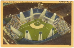 Braves Field -- Home of the Boston Braves, Boston, Mass.