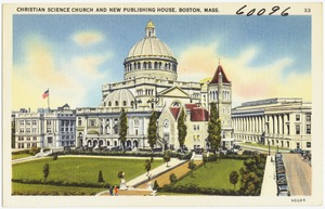 Christian Science Church and new Publishing House, Boston, Mass.