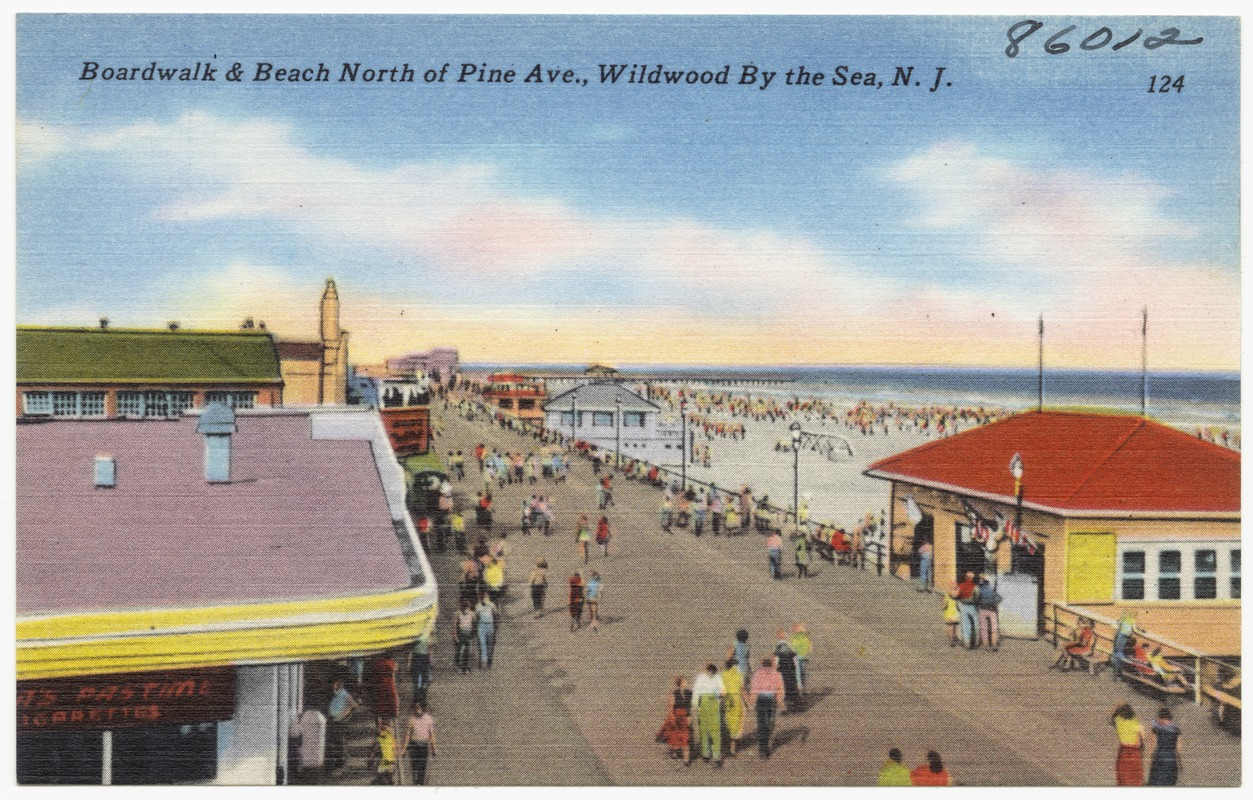 Pine Ave Wildwood By The Sea N J