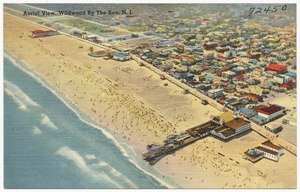 Aerial view, Wildwood by the Sea, N. J.