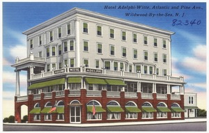 Hotel Adelphi-Witte, Atlantic and Pine Ave., Wildwood-by-the-Sea, N. J.