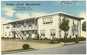 Anchor Court Apartments, 240 E. Baker Ave., Wildwood by the Sea, N. J.