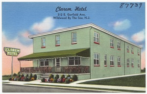 Clarem Hotel, 312 E. Garfield Ave., Wildwood by the Sea, N. J.