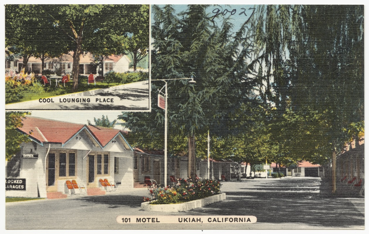 101 Motel, Ukiah, California