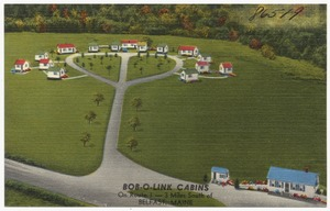 Bob-o-link Cabins on route 1 - 3 miles south of Belfast, Maine
