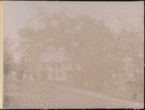 Wachusett Aqueduct, Nathan and Elizabeth S. Severance's house, south side, station 179, Berlin, Mass., May 23, 1896
