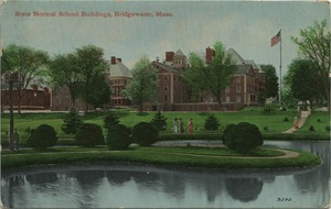 State Normal School buildings, Bridgewater, Mass.