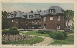 State Normal School, Tillinghast Hall, Bridgewater, Mass.
