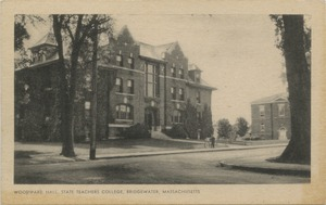 Woodward Hall, State Teachers College, Bridgewater, Massachusetts