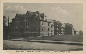 Woodward Dormitory, Normal School, Bridgewater, Mass.