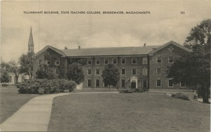Tillinghast building, State Teachers College, Bridgewater, Massachusetts