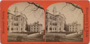 Normal School Building and Normal Hall, Bridgewater, Mass.