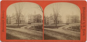 Normal Hall and Normal School Building, Bridgewater, Mass.