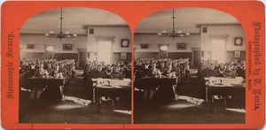 Assembly hall, State Normal School at Bridgewater