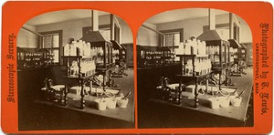 Chemistry laboratory, State Normal School at Bridgewater