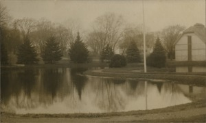 Campus pond, State Normal School at Bridgewater, Massachusetts